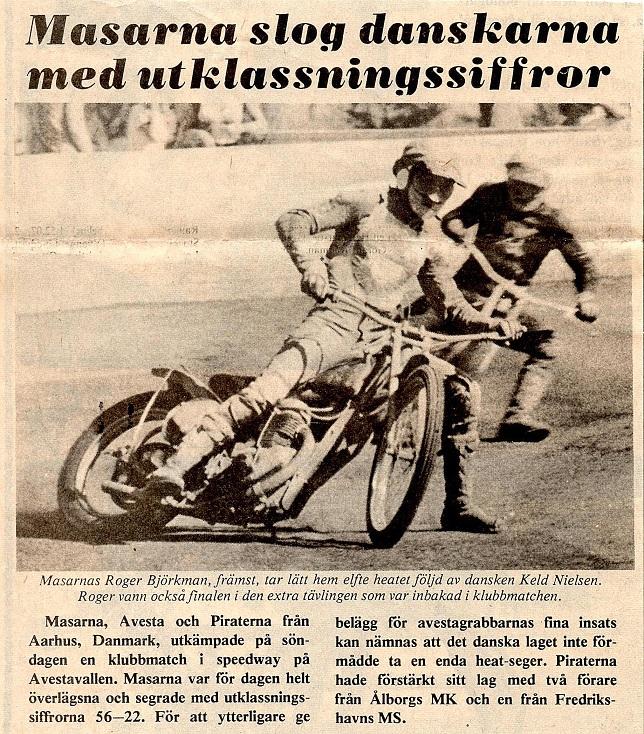 Ja, Masarna tog jo fælt revanche i 1975, hvor banen var tør.