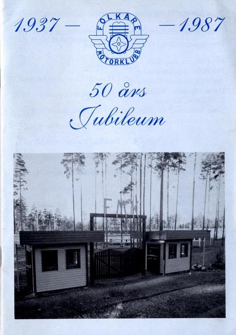 Forsiden af Jubilæumsskriftet.