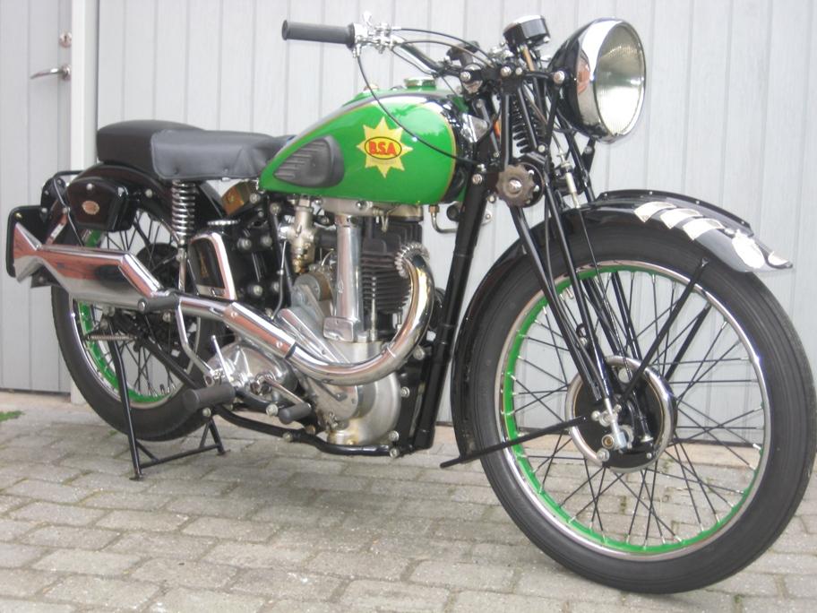 Cyklen som den ser ud i dag i Leif Pedersens eje.