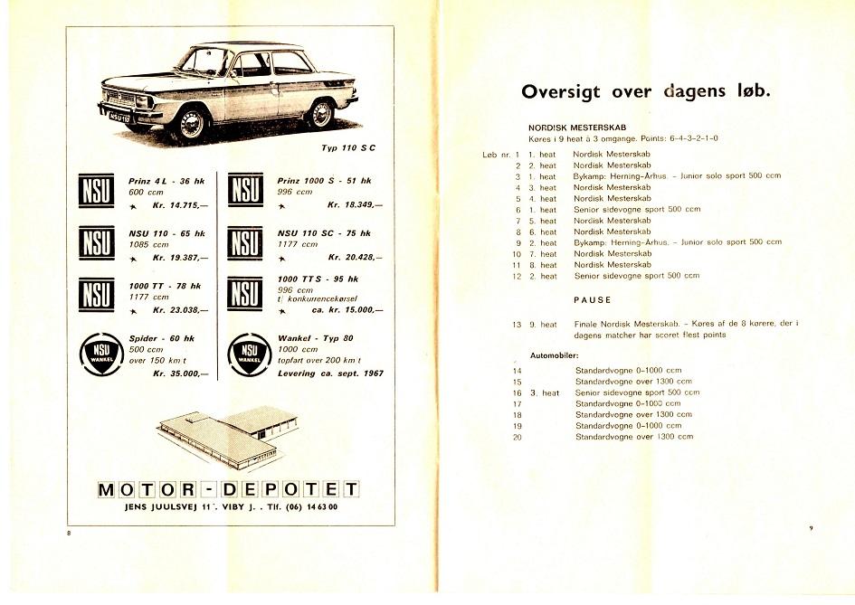 I JVB programmet 1967 annonceres for det nye domicil på Jens Juulsvej i Viby.