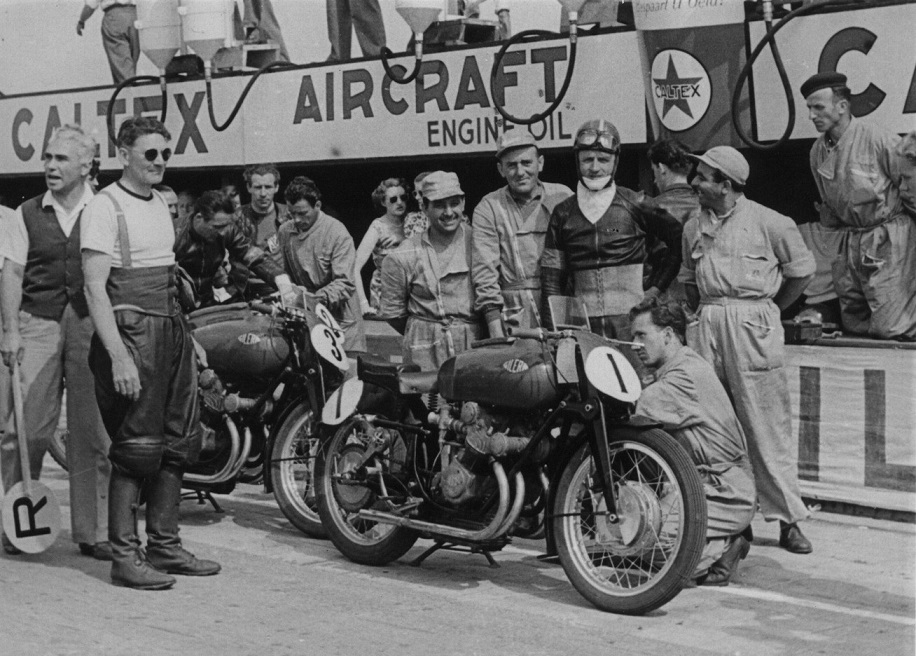 Gilera stillede et stærkt team i 500cc klassen.