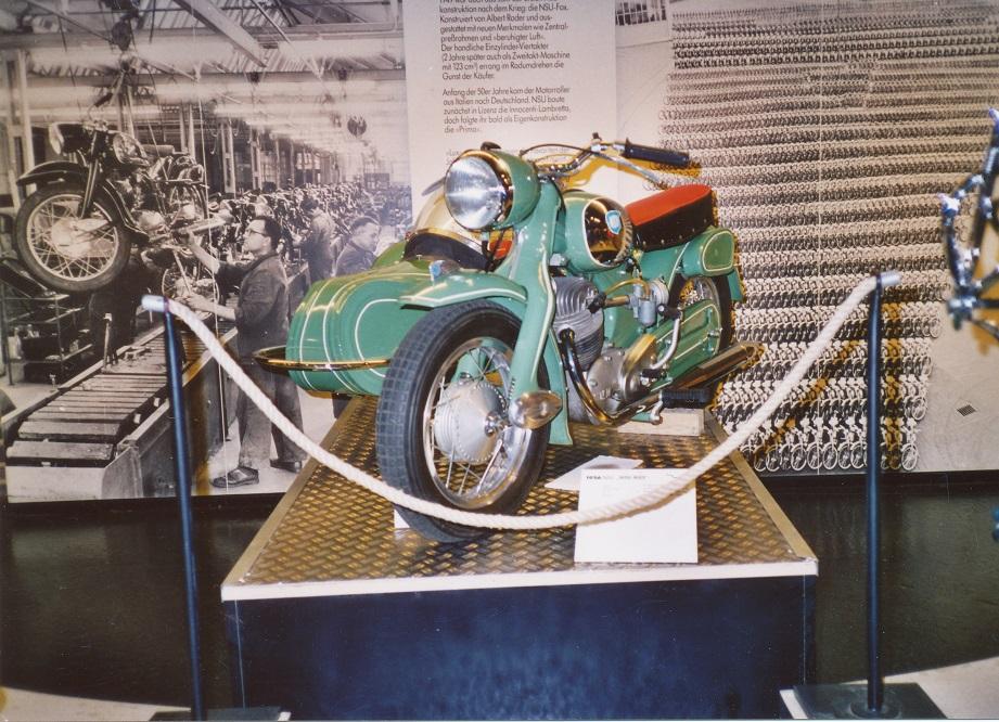 Knud solgte cyklen til en dansk NSU-forhandler, som åbenbart har solgt den videre på et tidspunkt. I dag står cyklen på NSU-museet i Neckarsulm.