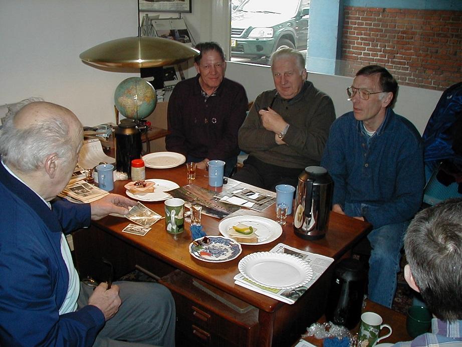 Knud, Bollerup, Carl A. og Leif P.