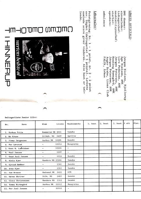 Program Hinnerup 1977 img2