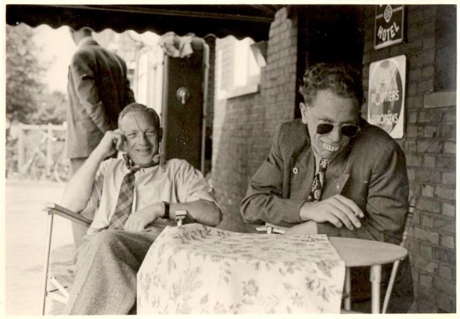 Chr. Wenderby til venstre og Henning Pedersen.