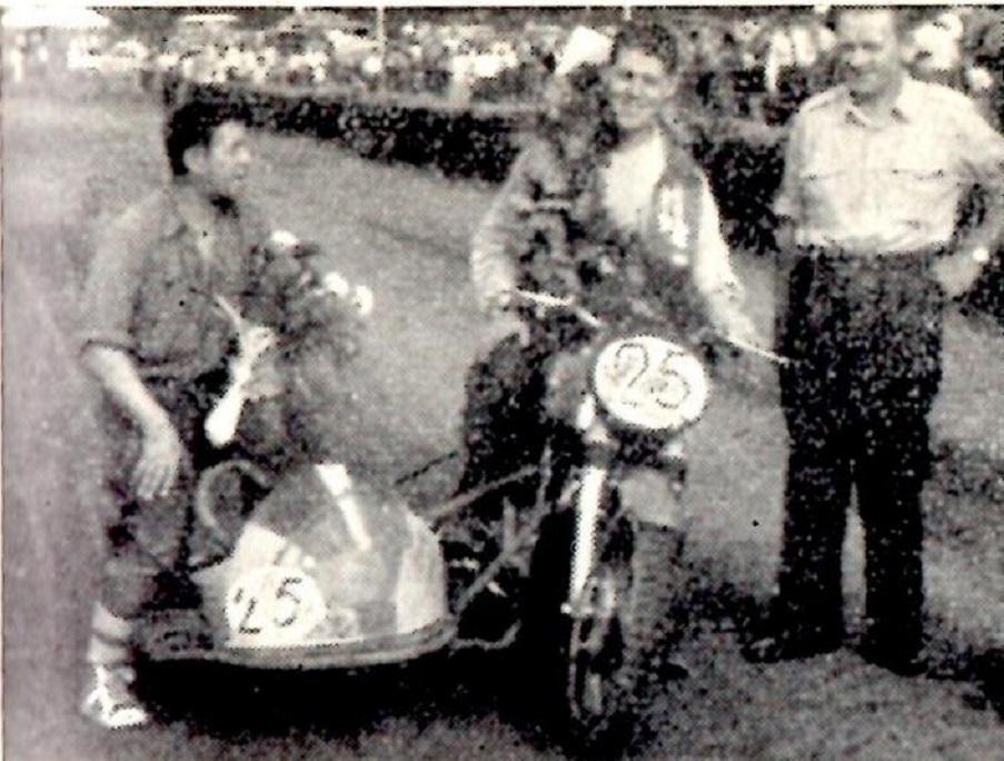 Kresten og P.Mut som vinder af JM 1955.