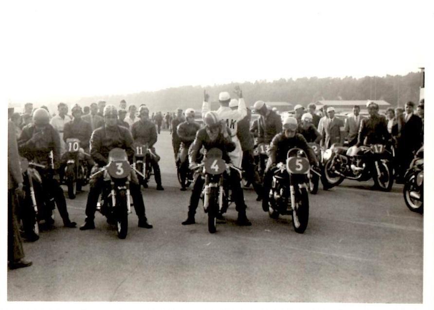 Klar til start i 500cc klassen