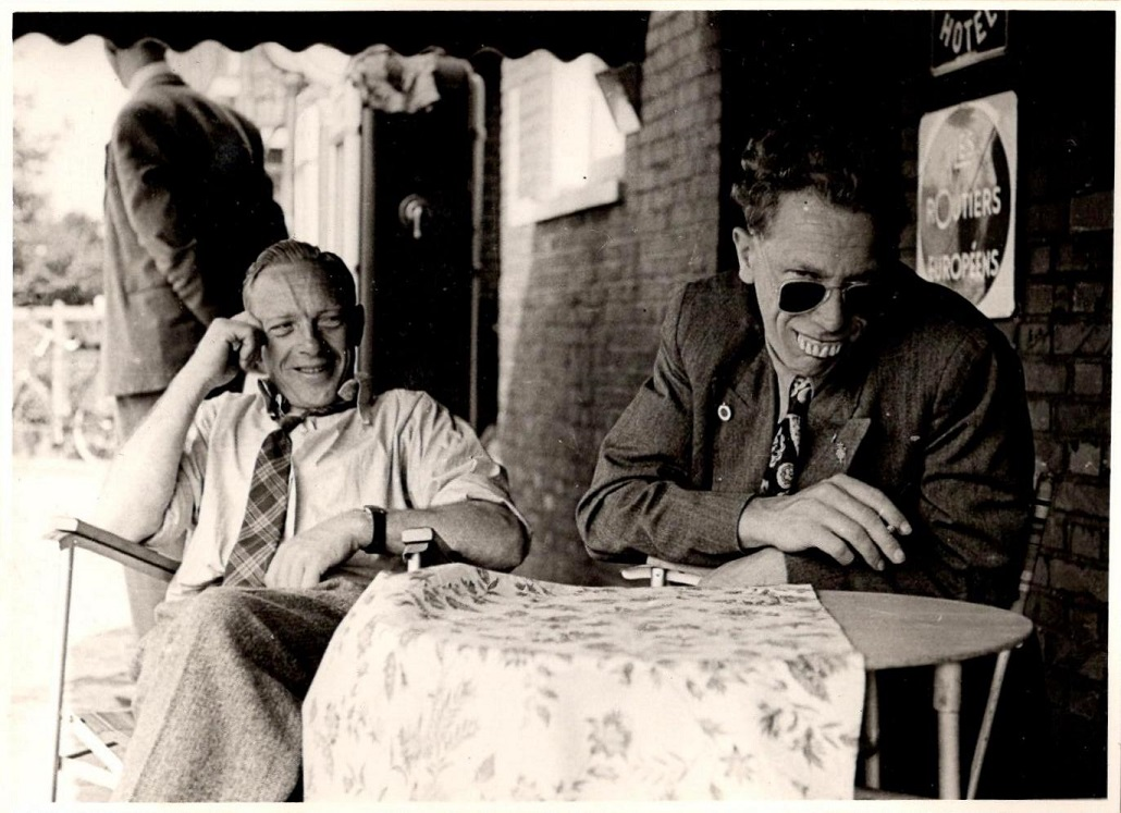 Chr. Wenderby til venstre og Henning Pedersen