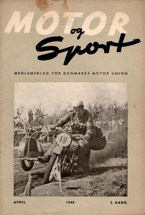 DMU blad april 1948. Carlo på Hem Odde maj 1947.