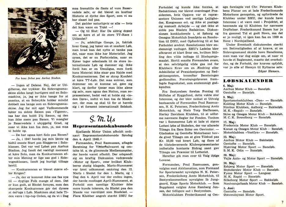 Interview med Carlo i DMU blad maj 1948 img2