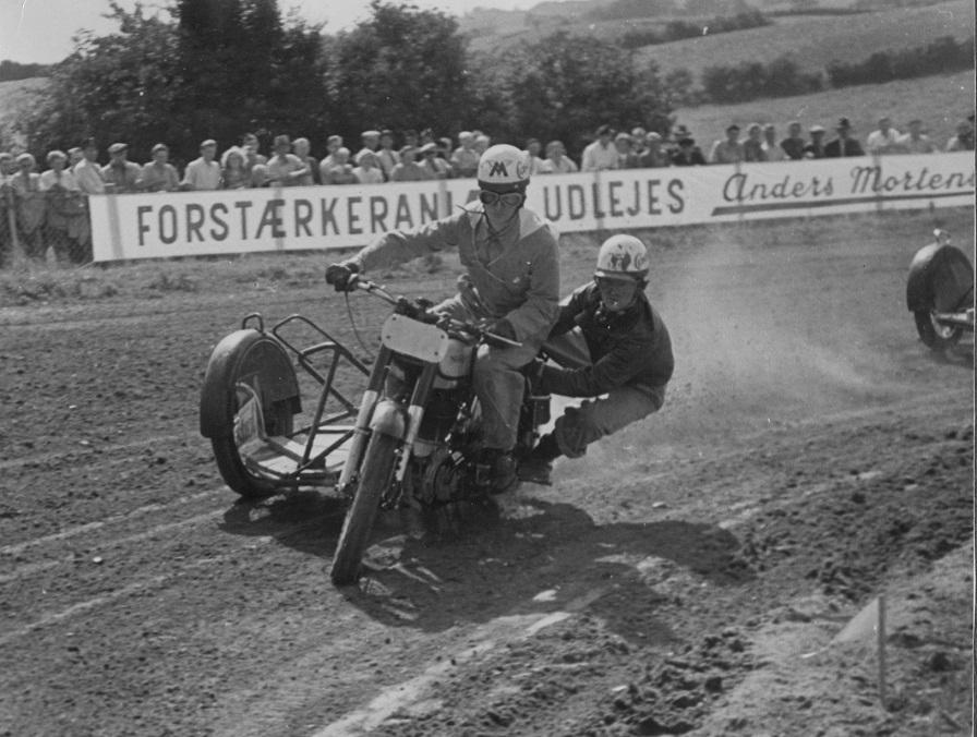 Harry og Gunnar Bøghoved 1953.