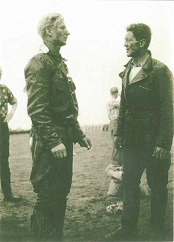 Navr 1956. Harry og Gunnar lægger taktik?