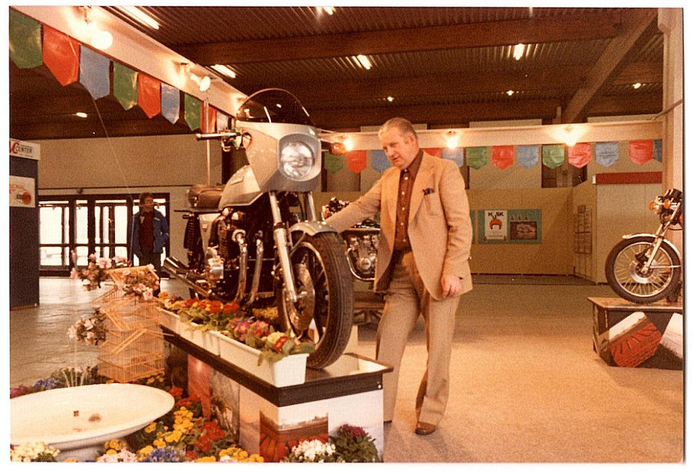 Stadig MC-messen 1978.