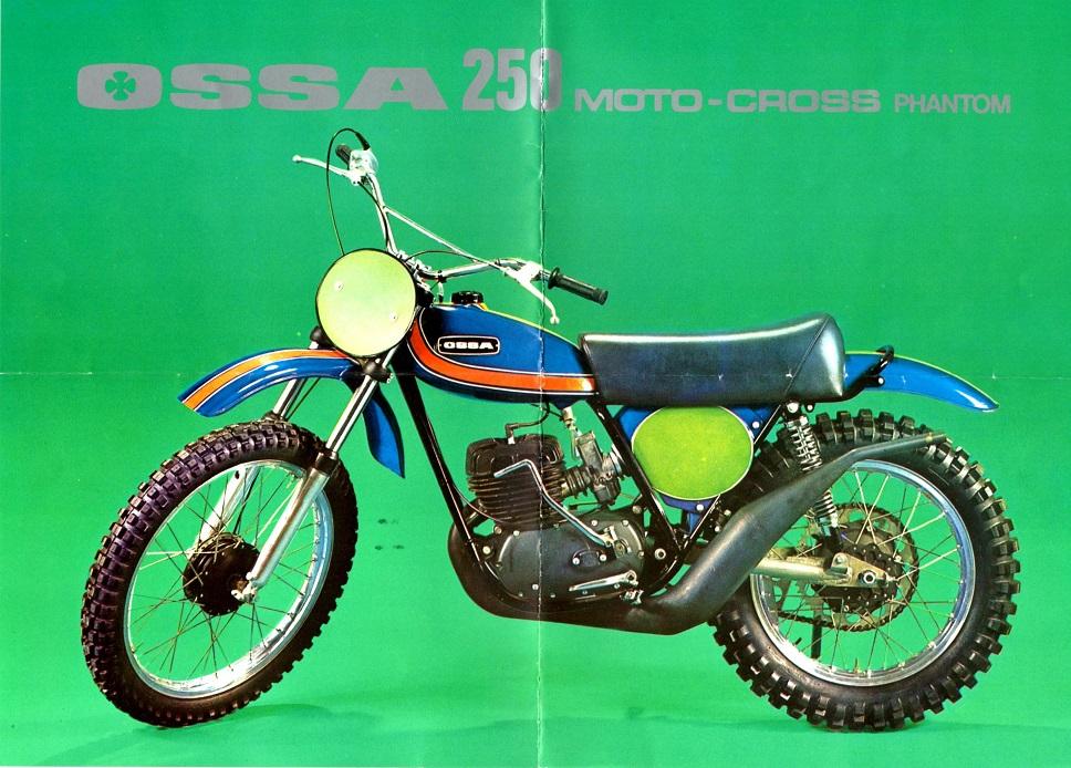 Carl solgte også denne Ossa i crossversion.