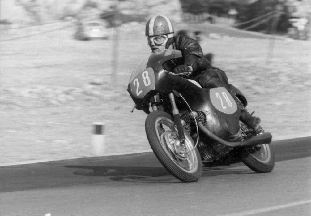 Opatia, Jugoslavien juni 66. Franz på Honda CB72.