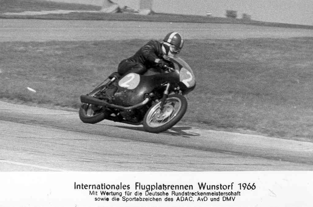Franz på postkort Wunstorf 1966