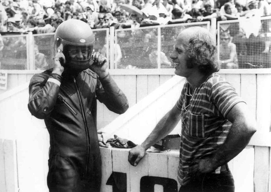 Stadig Sachsenring 1971.