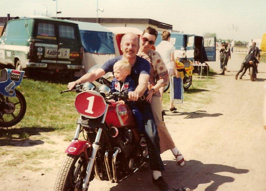 Franz og Elli 1980, sted ukendt.