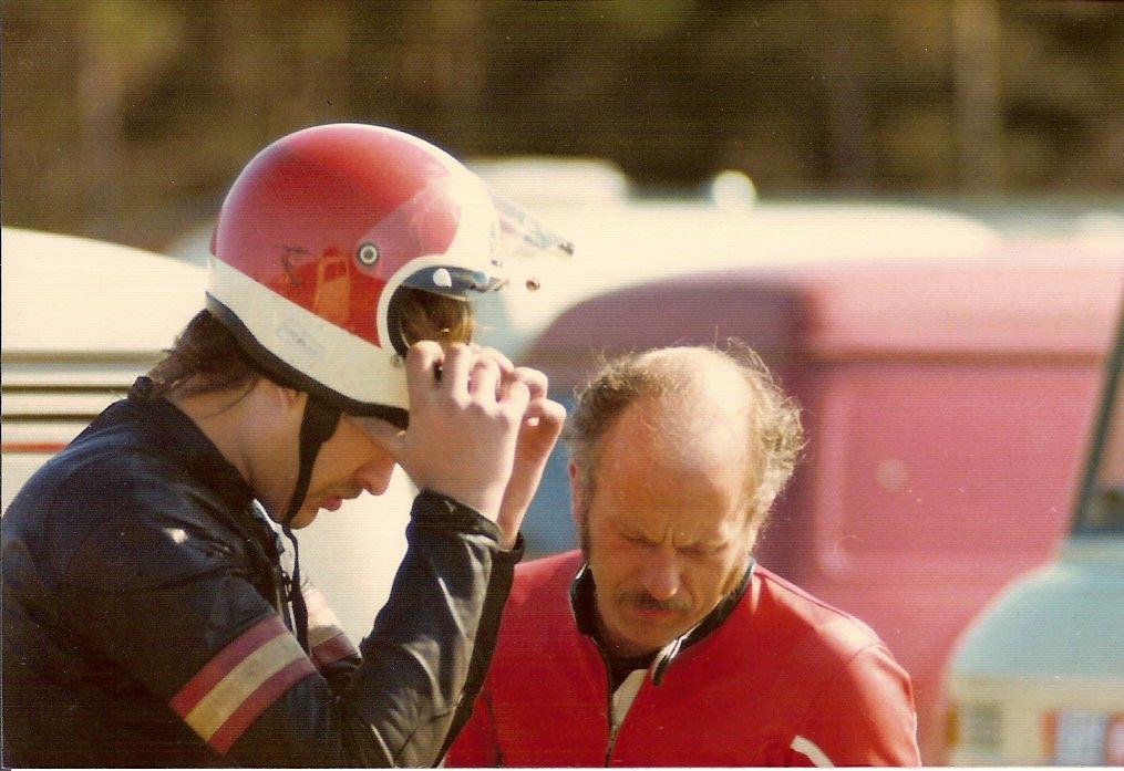 Erik Andersson og Franz 1976, sted ukendt