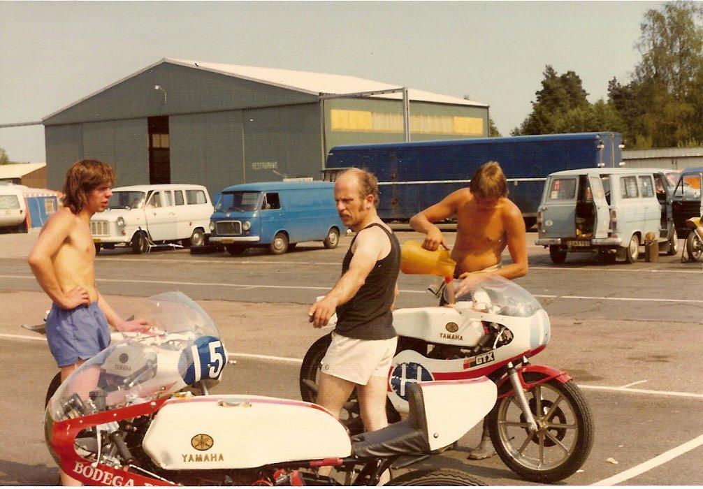 Franz og brdr. Andersson på Anderstorp, sandsynligvis DM 1976