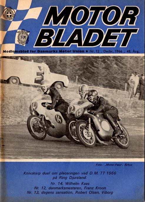 Motorbladet havde begivenheden på forsiden