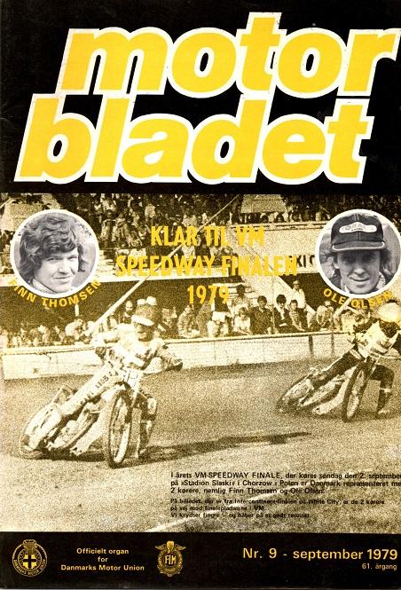 Motorbladet sept. 79 havde de to danske VM-finalister på forsiden.