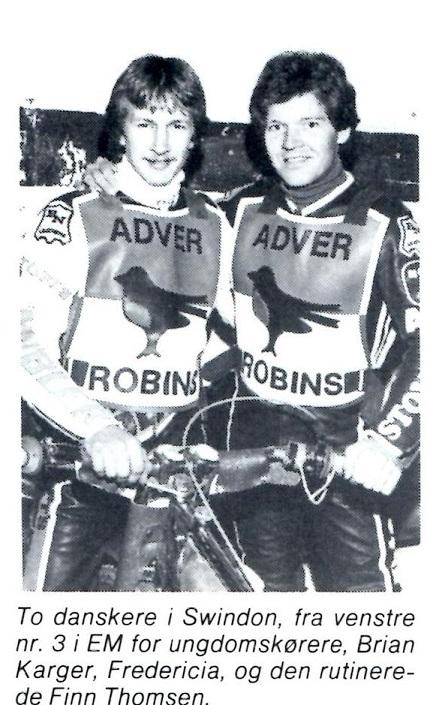 Finn var holdkammerat med Brian Karger. MB nov. 86.