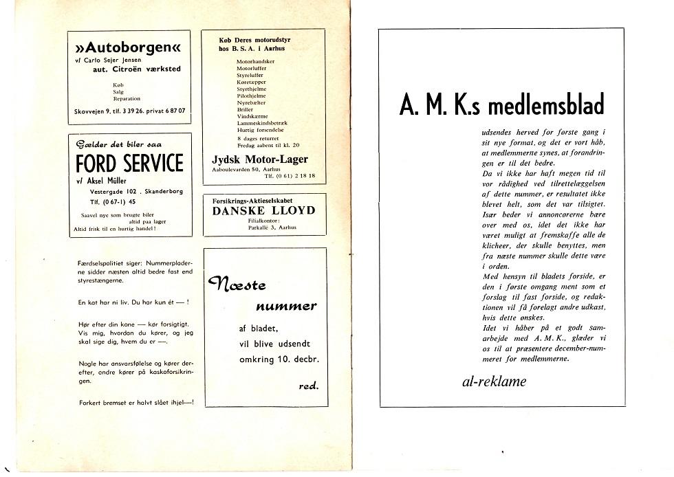 Klubblad 1962