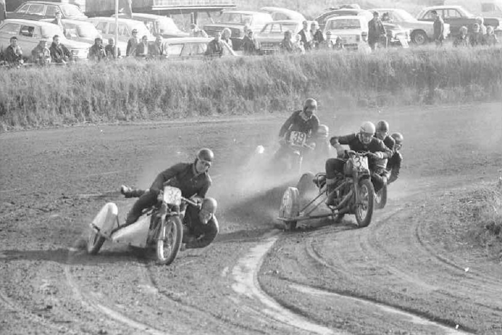 DM Løvel 1969. Frank Damgaard/Henning Damsgaard i front. Niller og Erik Sejr sidst.