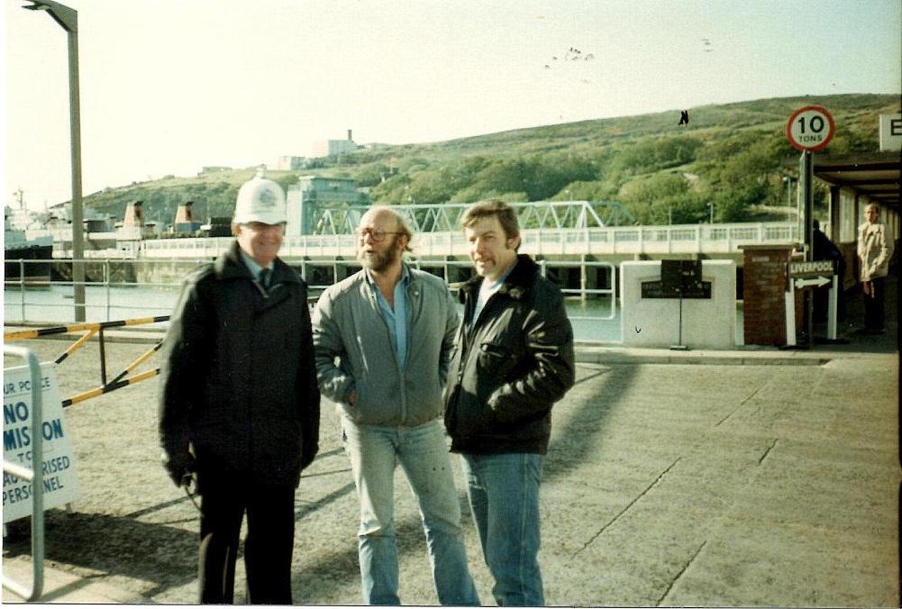 Asger og Ole med en Bobby på Man-turen.