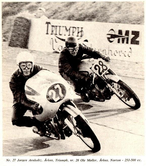 DM-TT Ring Djursland 1965. Billede bragt i Motorbladet dec. 65.