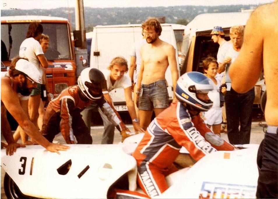Benny og Ole kørte et løb i Tjekkoslovakiet. Ole erindrer ikke årstallet. Img1.