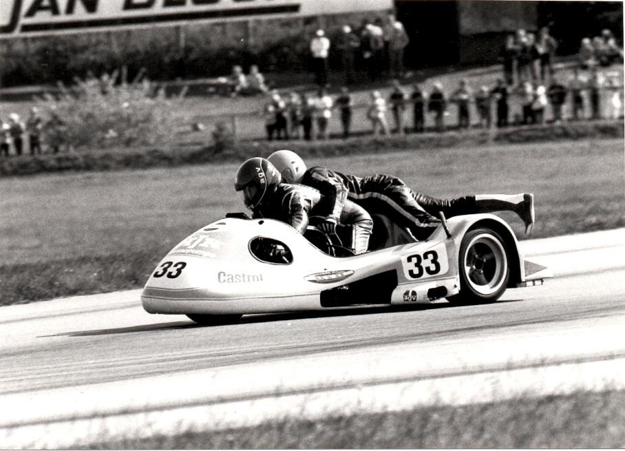 Ole og Alex på Jyllands-Ringen til NM maj 1982 img1.