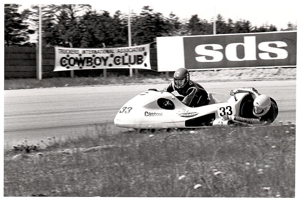 Ole og Alex på Jyllands-Ringen til NM maj 1982 img2.