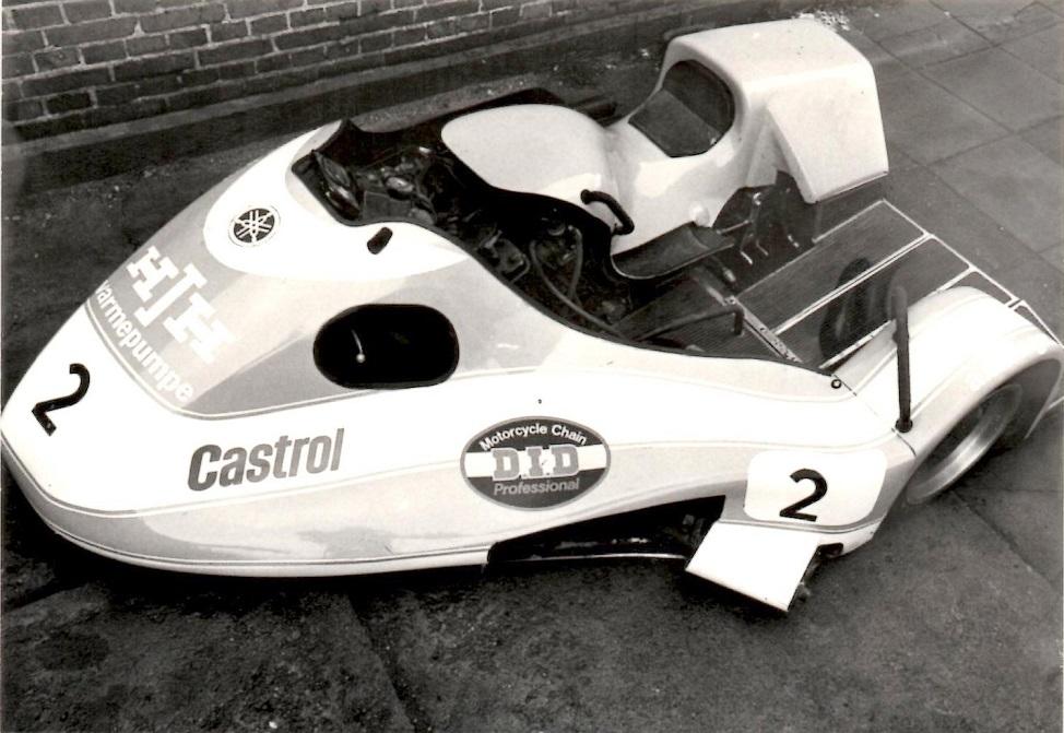 Raceren kampklar - Foto taget af Jakob Fastrup.