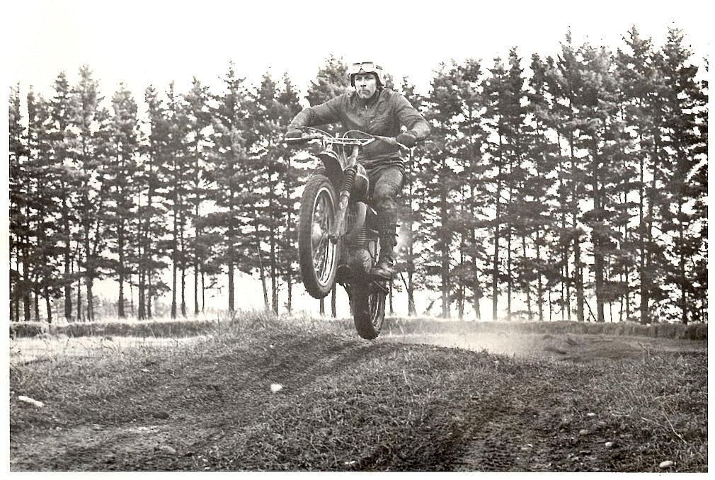 Ole som cross-kører i Elling omkring 1971 img1.