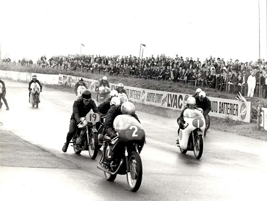 DM 1966 Ring Djursland. Ole med nr. 19. Nr. 1 er Jørgen TT Nielsen.