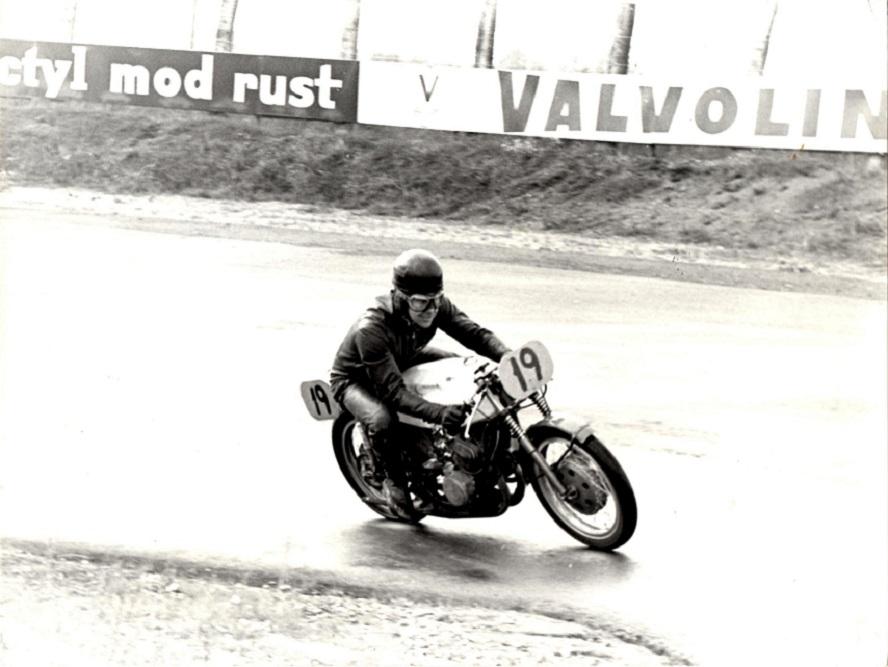 DM 1966 Ring Djursland. Et solobillede af Ole.