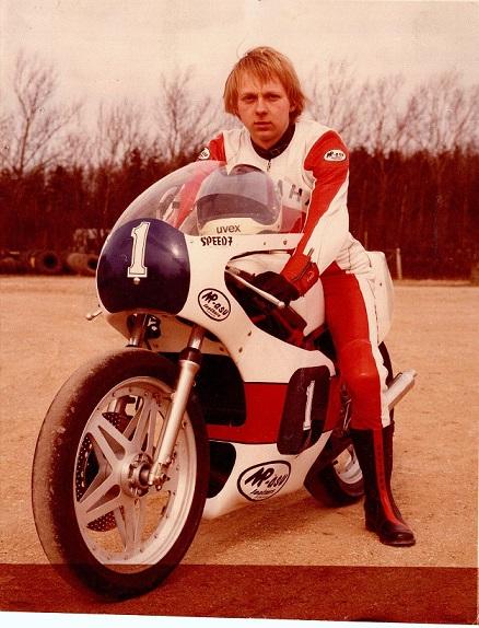 Et godt billede af Paul omkring 1981-82.