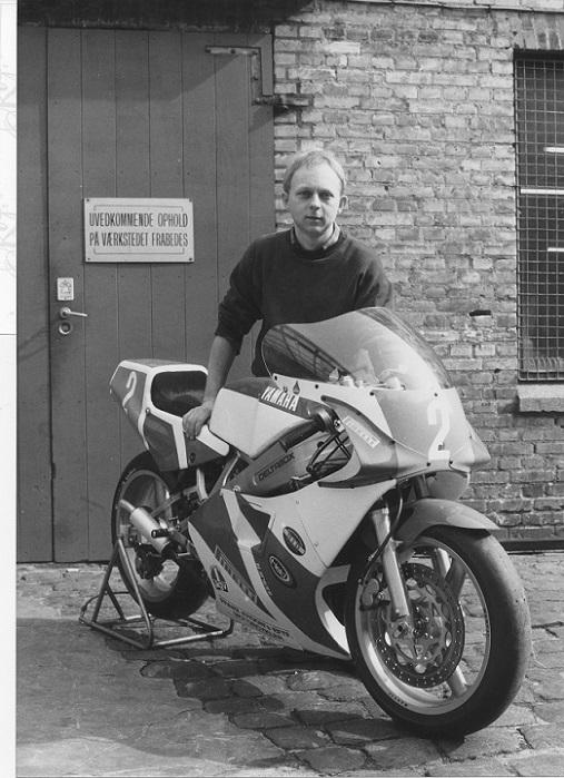 Klar til 1988 sæsonen. DMU havde til 1988 indført faste startnumre til danske løb, så Paul fik nr. 2 for sin 2. plads i DM 1987.
