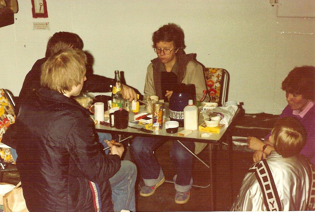 Paul og Kis i Sverige 1982.