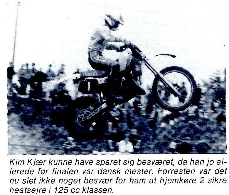 Motorbladet havde også dette billede med omtale i okt. nummer.