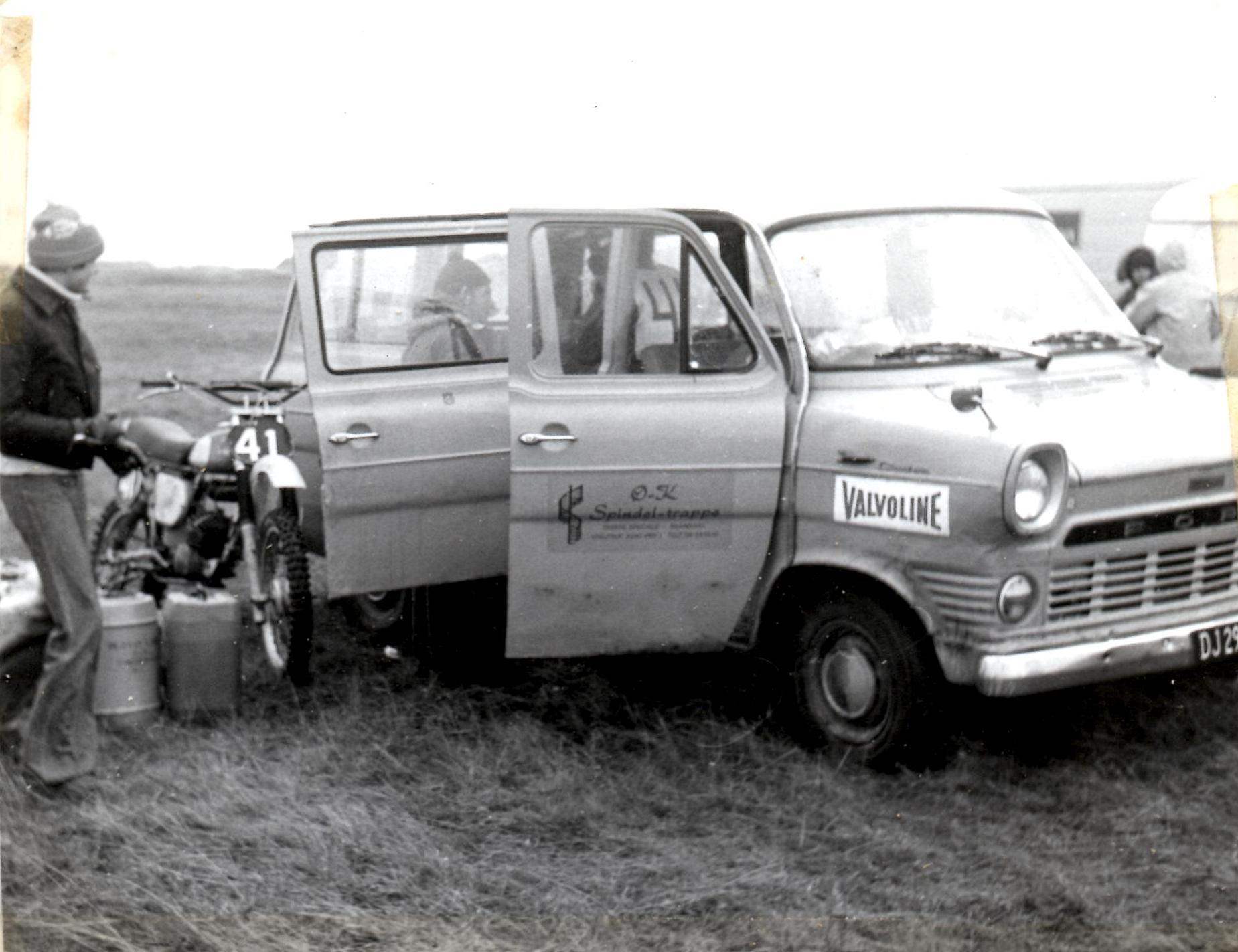 Racertransporteren med logo GN 1977.