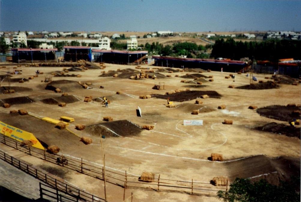 Stadioncross-banen.