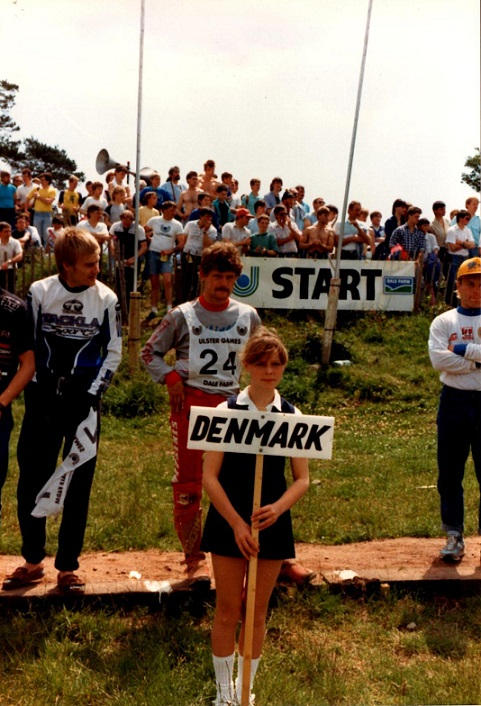 Irland VM afd. 1987. Claus M. skimtes til højre.