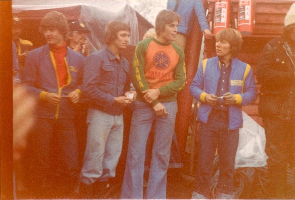Fra NM i Norge sept. 78. Kim, Ejvind Bødker, Erik W. Pedersen, Weinreich.