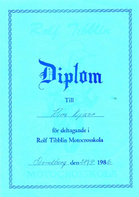 Kim deltog på Rolf Tibblin kurser i 1986 og 1988.