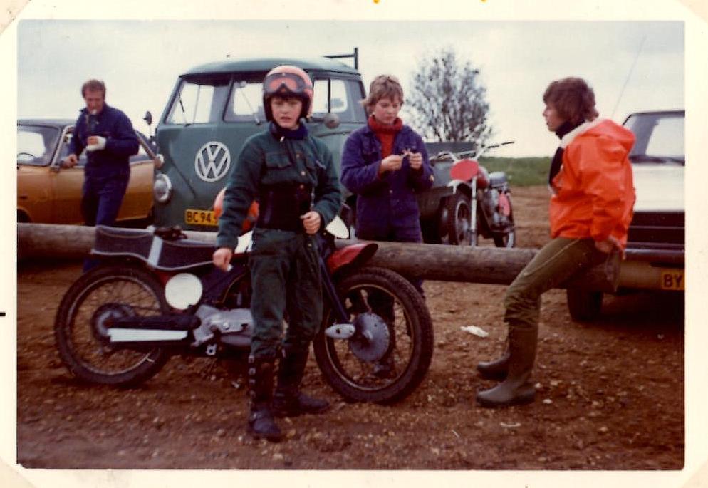 Kim med Palle Winther til højre. Til venstre er det Palle Winthers far.