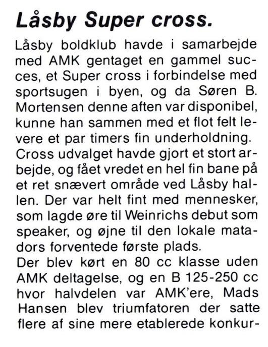 1989-07 Klubblad Låsby 8.juni img1