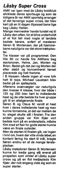 1991-07 Klubblad Låsby img1